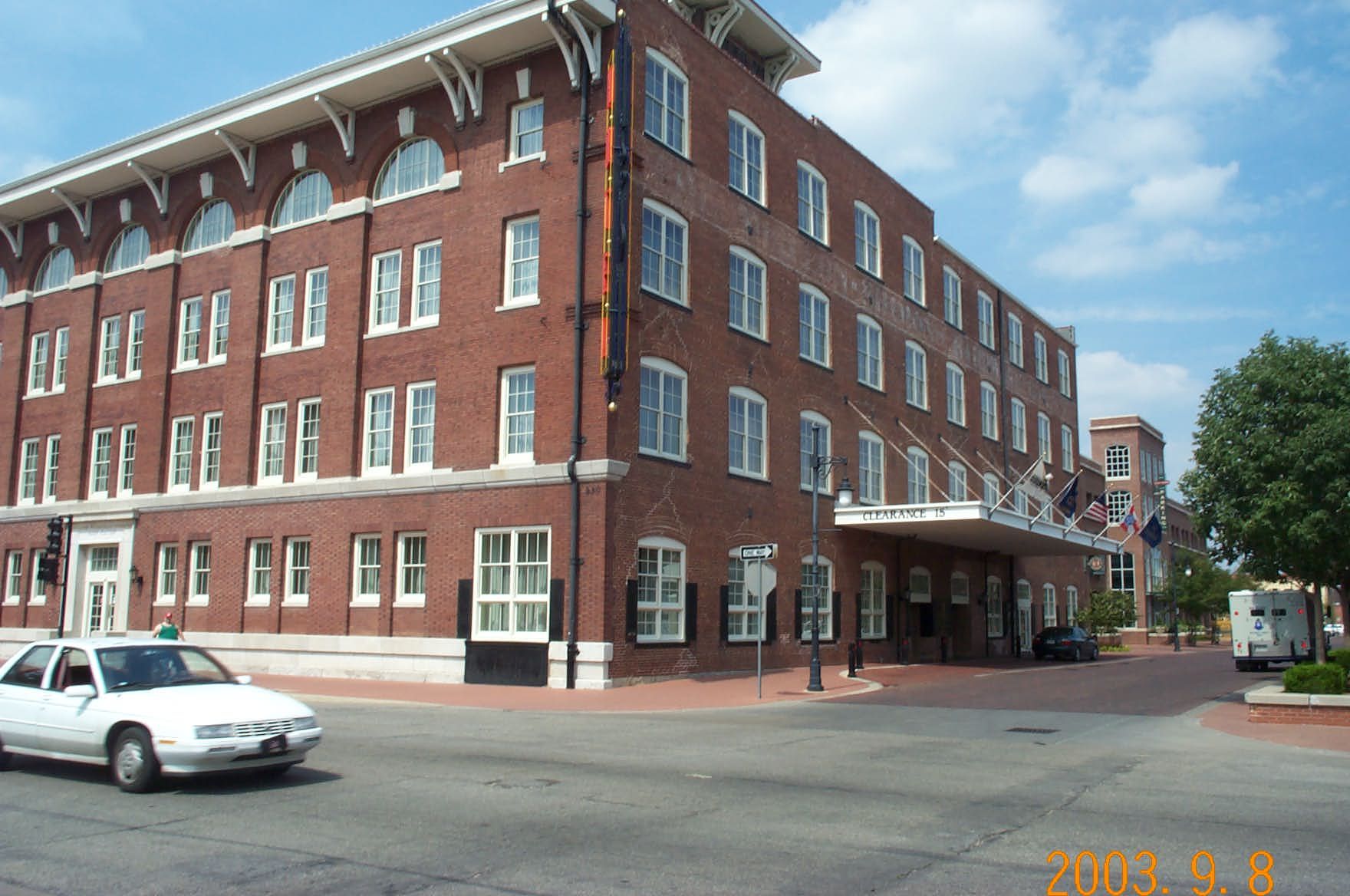 The Hotel at OldTown where we will all stay. Across the street in the banquet room will be our get together dinner on Tuesday